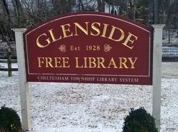 Glenside Library, Cheltenham Township, PA SUPPORT your local library