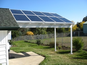 Solar Patio Cover, Custom Solar Framing System, Energy Efficient ...
