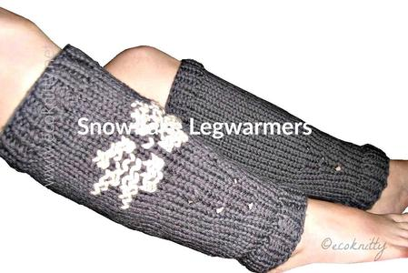 Snow Flake Leg Warmer