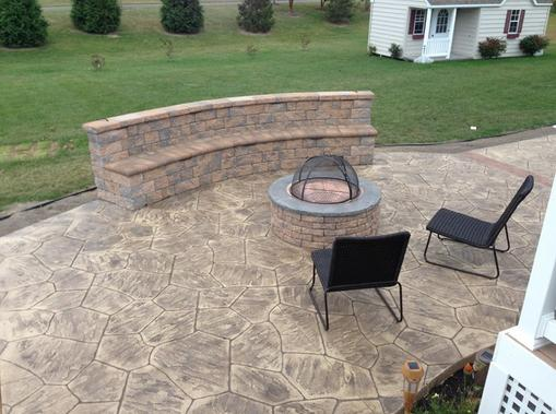 Excellent Stamped Concrete Patio Contractor and Pricing in Malcolm NE| Lincoln Handyman Services
