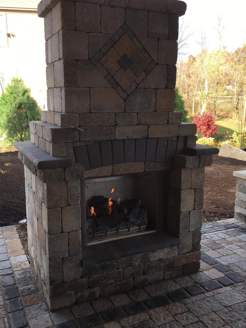 Outdoor Fireplaces Fire Pits K Morris Landscape Design