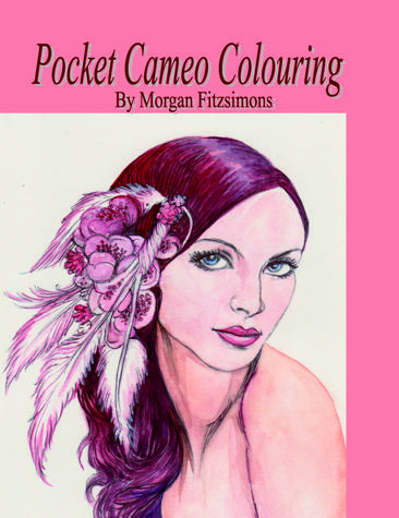 Pocket Cameo Colouring Book by Morgan Fitzsimons
