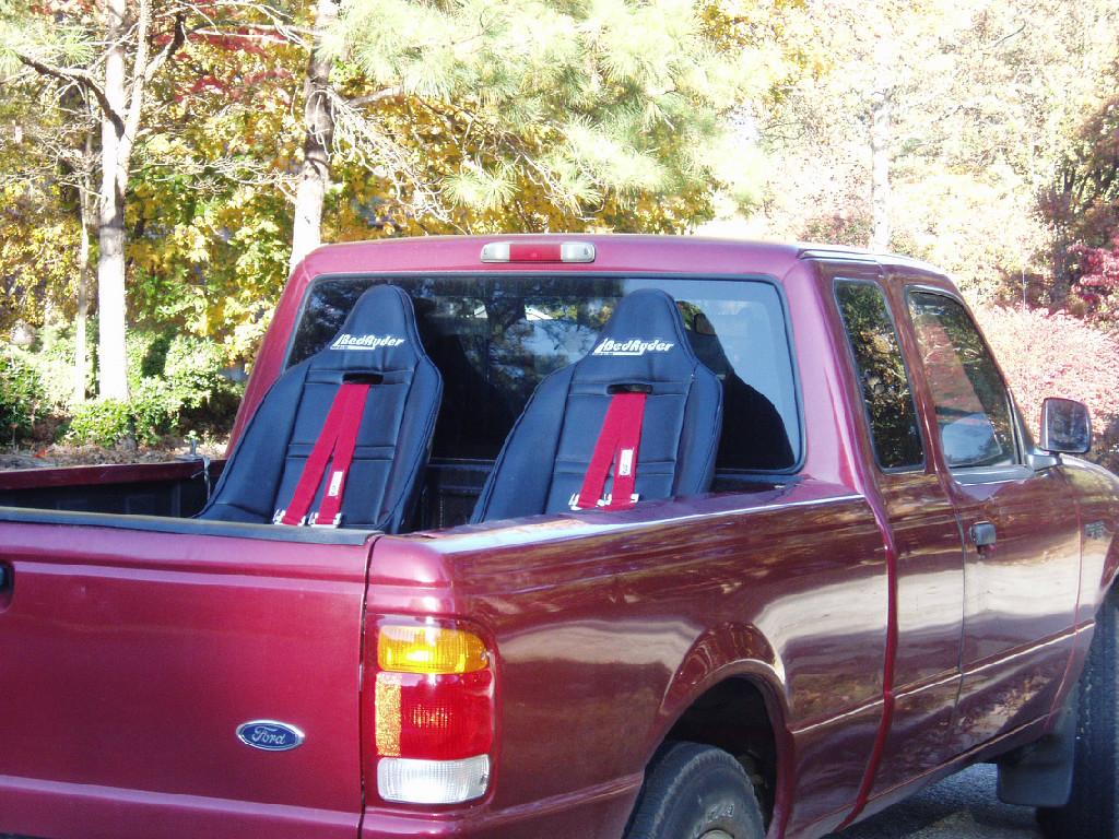 Bedryder Truck Bed Seating System