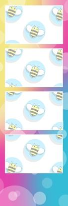 Bumblebee Booths Photo Strip sample #26
