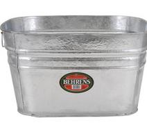 Hop Dip Galvanized Square Tub
