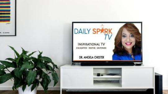 Be a guest on Daily Spark TV with Dr. Angela Chester