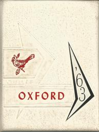 Oxford Cardinals 1963 Yearbook