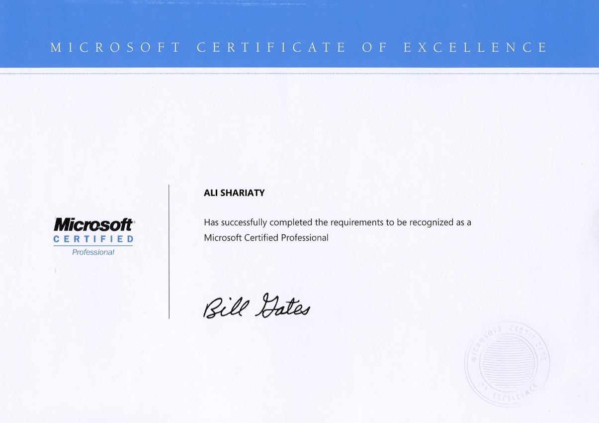 Ali shariaty network engineer certifications xflitez Gallery