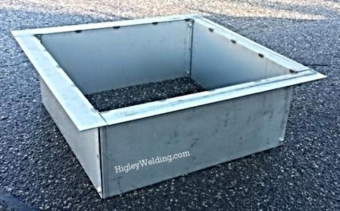 Square Fire Pit Liner