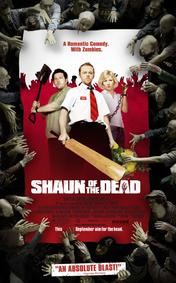 shaun of the dead simon pegg nick frost zombies comedy the smokey shelter movie review podcast