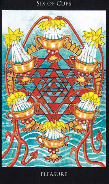 Image result for 6 of cups tarot rosetta
