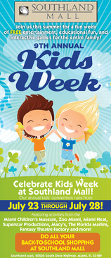 Miami Events; Kids Week; Summer programs; Family events; Fun and Entertainment; Educational Activities