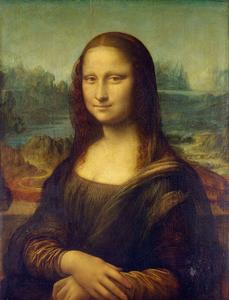 The Mona Lisa by Leonardo da Vinci. Images may be subject to copyright