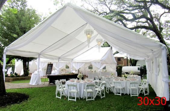 OUTDOOR WEDDING TABLE AND CHAIRS