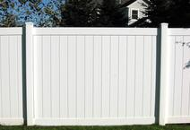vinyl fencing built by all american fence contractor and fence company