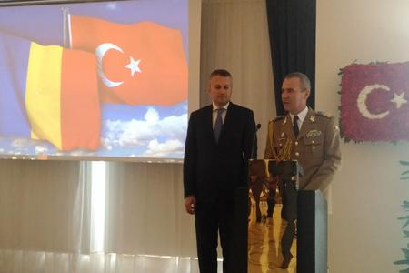 Romania, Romanian Armed Forces Day, Embassy of Romania in Ankara, Turkey, Ambassador Gabriel Şopanda