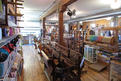 Used Weaving Looms for sale, Weaving, Spinning and Yarn Shop.