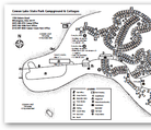 Cowan Lake SP Campground Map