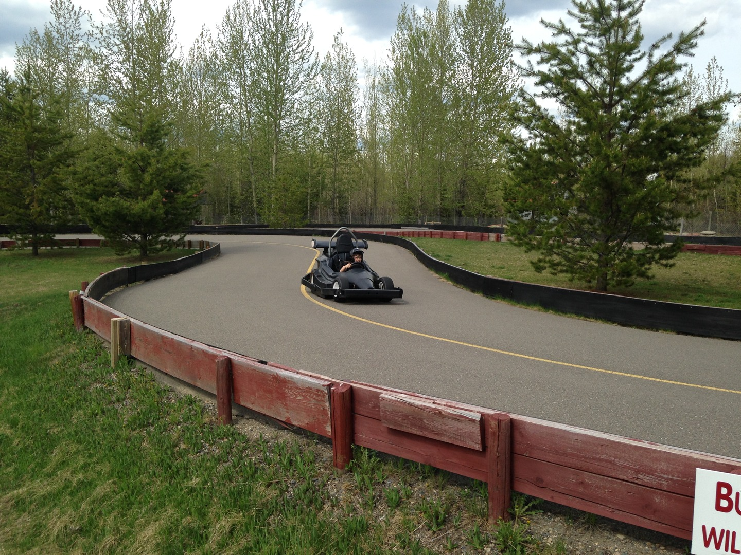 Prince George Go-Kart Racing