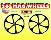 48cc 49cc 50cc 66cc 80cc 2-stroke 4-stroke motorized bike mag aluminum wheel set