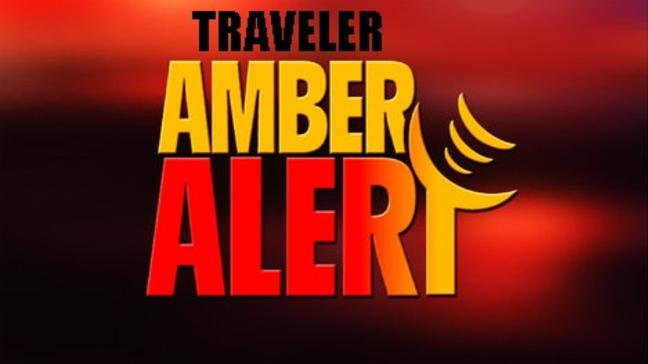Image of the traveler amber alert logo