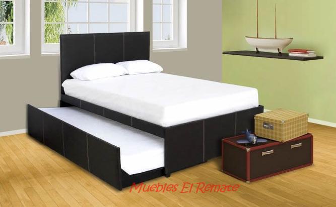 Base cama canguro mat individual venta solo en monterrey for Remate de muebles para el hogar