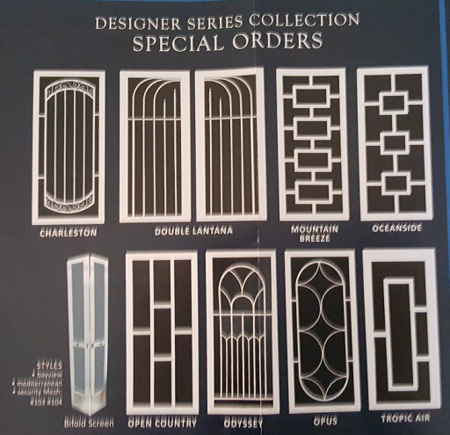 Designer Series Collection Special Order Screen Door Photo
