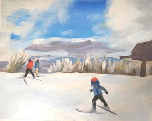Snow Scene Oil Paintings for Sale