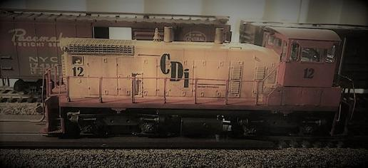 Picture of Central District Interchange SW 1500 switching locomotive