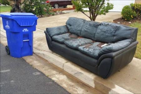 Curbside Junk Furniture Sofa Pickup Curbside Garbage Pickup Lincoln | LNK Junk Removal