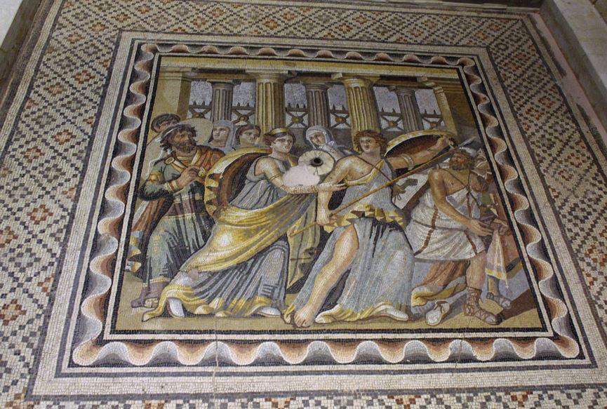Zeugma Akhilleus Mozaiği