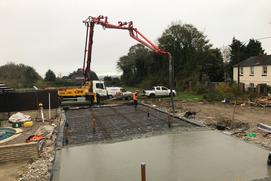 Domestic flood defence project