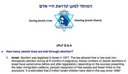 Jewish Pro-Life Questions and Answers