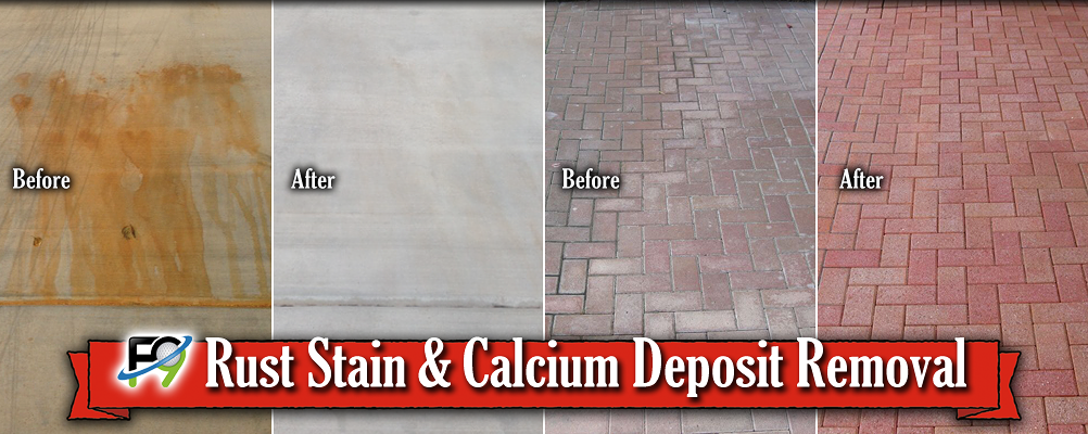Rust Stain Removal and Calcium Deposit Removal for San Antonio, TX ...