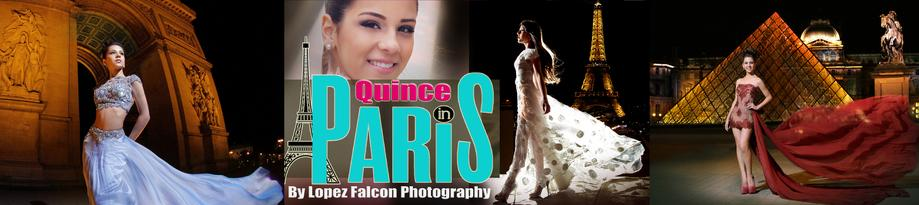 PARIS QUINCEANERA PHOTOGRAPHY