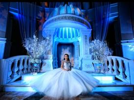 winter wonderland quinces party miami quinceanera winte rwonderland westin colonnade