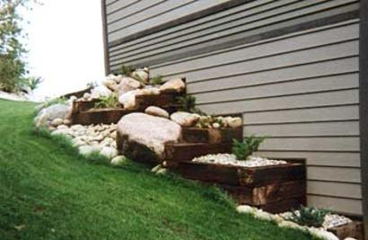 Railroad Ties For Sale, Railroad Tie Retaining Wall - Quality