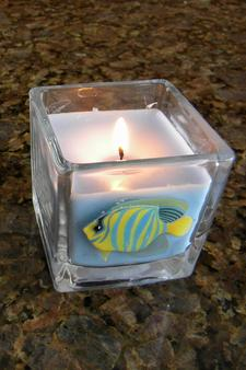 Easy to make Nautical Candles. www.DIYeasycrafts.com