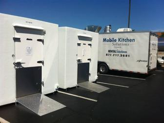 Mobile kitchen trailer rental