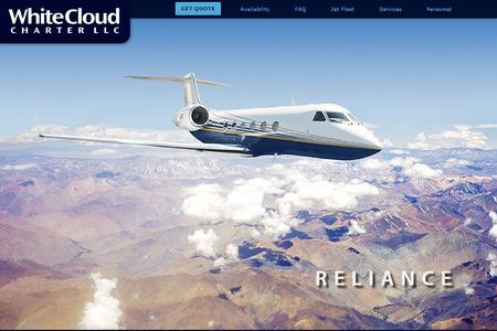 White Cloud Charter Website Image