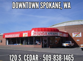 Motion Auto Supply - Downtown Spokane - 509-838-1465