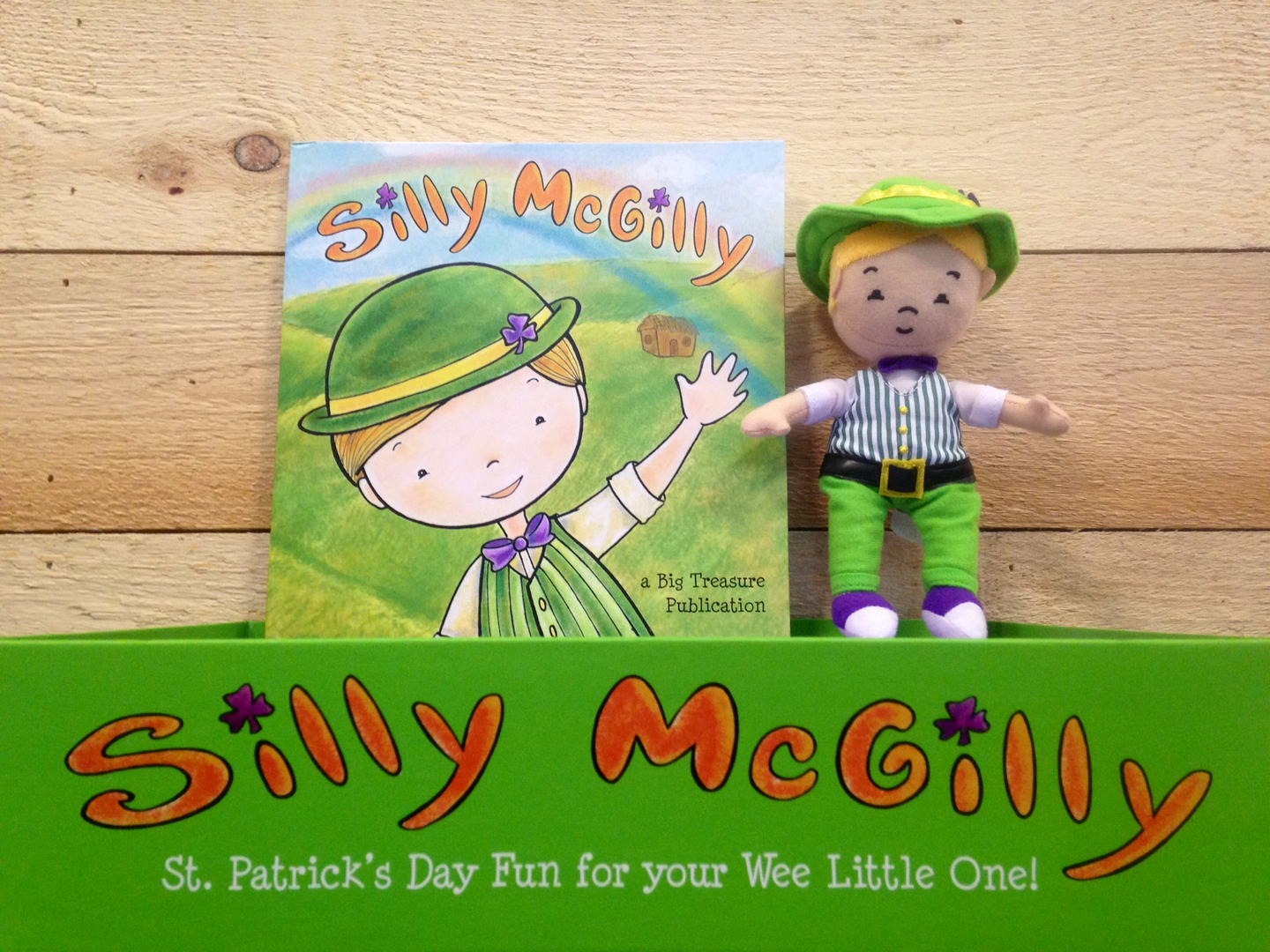 silly mcgilly st patrick u0027s day book