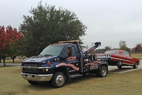 LOCAL TOWING SERVICE
