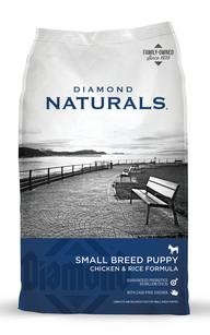 Diamond Natural with Chicken and Rice Small Breed Dog Food