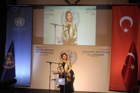 United Nations, UN Day, Ankara, Turkey, the UN Resident Coordinator Irena Vojackova-Sollorano