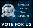 Vote for World Fusion Tours 2020 Rwanda's Leading Tour Operator