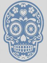 Cross Stitch Chart of Sugar Skull No 23