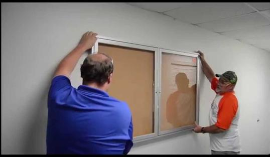 Bulletin Board Installation And Cost | Handyman Services of McAllen