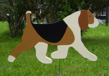 Beagle Lawn Ornament