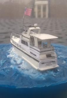 How To Make A Easy DIY Ship In Bottle Replica Of Any Yacht